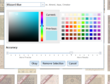 area rug color selection tool